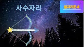 별자리운세 사수자리/12성좌운/점성술/총운/사수자리운세