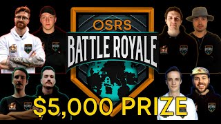 The $5,000 OSRS Battle Royale Ft. B0aty, Torvesta, Framed, C Engineer and MORE