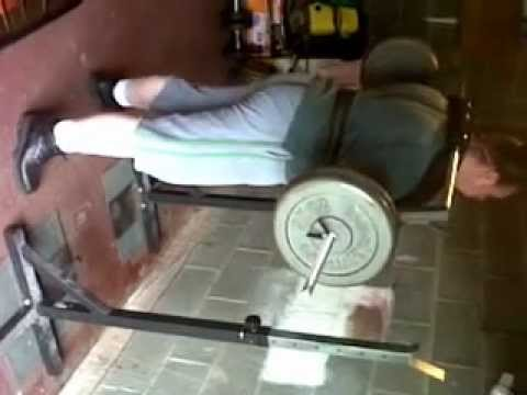 Safety squats youtube for Homemade safety squat bar
