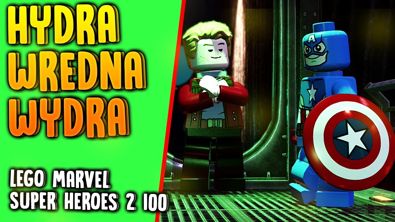 LEGO Marvel Super Heroes 2 100% – HYDRA WREDNA WYDRA