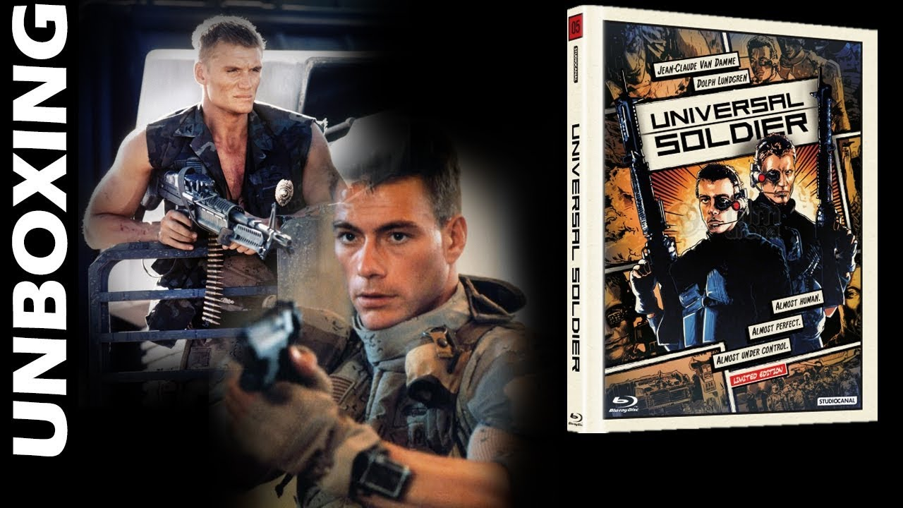 Download UNIVERSAL SOLDIER - Limited Edition Digibook Blu Ray Unboxing! [FilmArena] [2019]