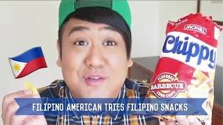 Filipino American Tries Filipino Snacks | Greggy Soriano