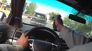 Nevada Cops Engage In Shootout With Murder Suspects During Car Chase