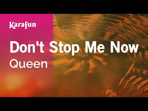 Karaoke Don't Stop Me Now - Queen *