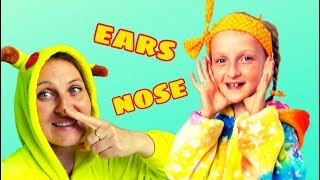 Head, shoulders,knees & toes kids song by Tawaki kids