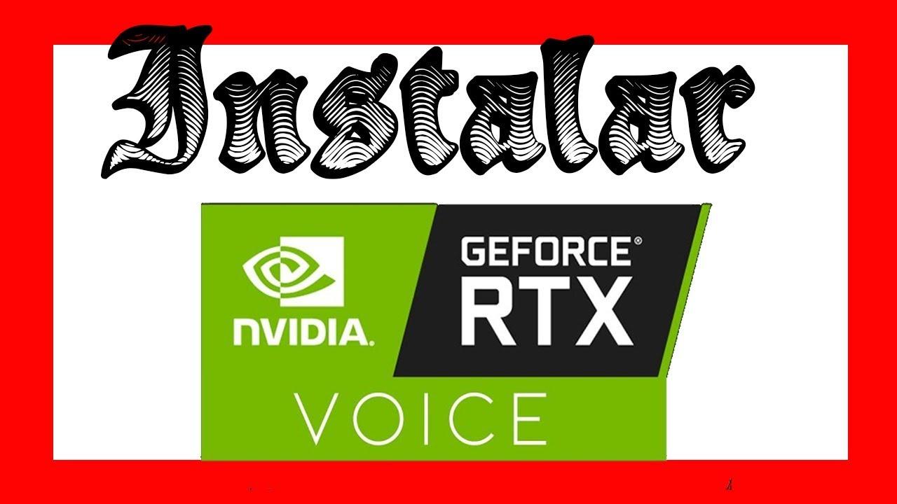 Como Instalar NVIDIA RTX VOICE en GTX [quitar error-usar sin tener RTX]✅