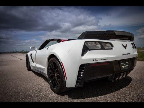 2015 Z06 Corvette Hennessey Development Vehicle - YouTube