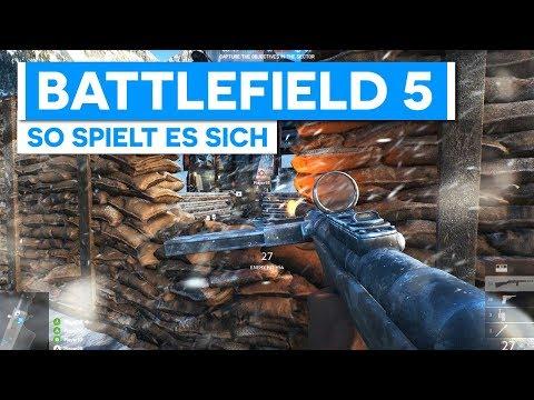 Ich habs gespielt! So spielt sich Battlefield V - Neues Battlefield 5 Gameplay