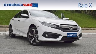 Por dentro do Honda Civic Touring 1.5 Turbo