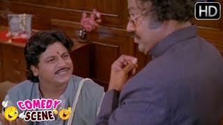 Lokesh interviewing Shivarajkumar - Super Office Comedy Scene - Kannada Movie Comedy Scenes