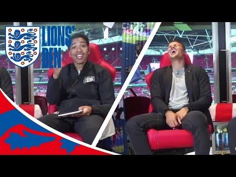 Jermaine Jenas Visits the First Ever Wembley Lions' Den!   Lions' Den