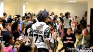 2 Les Twins Manchester Workshop UK May Warm Up