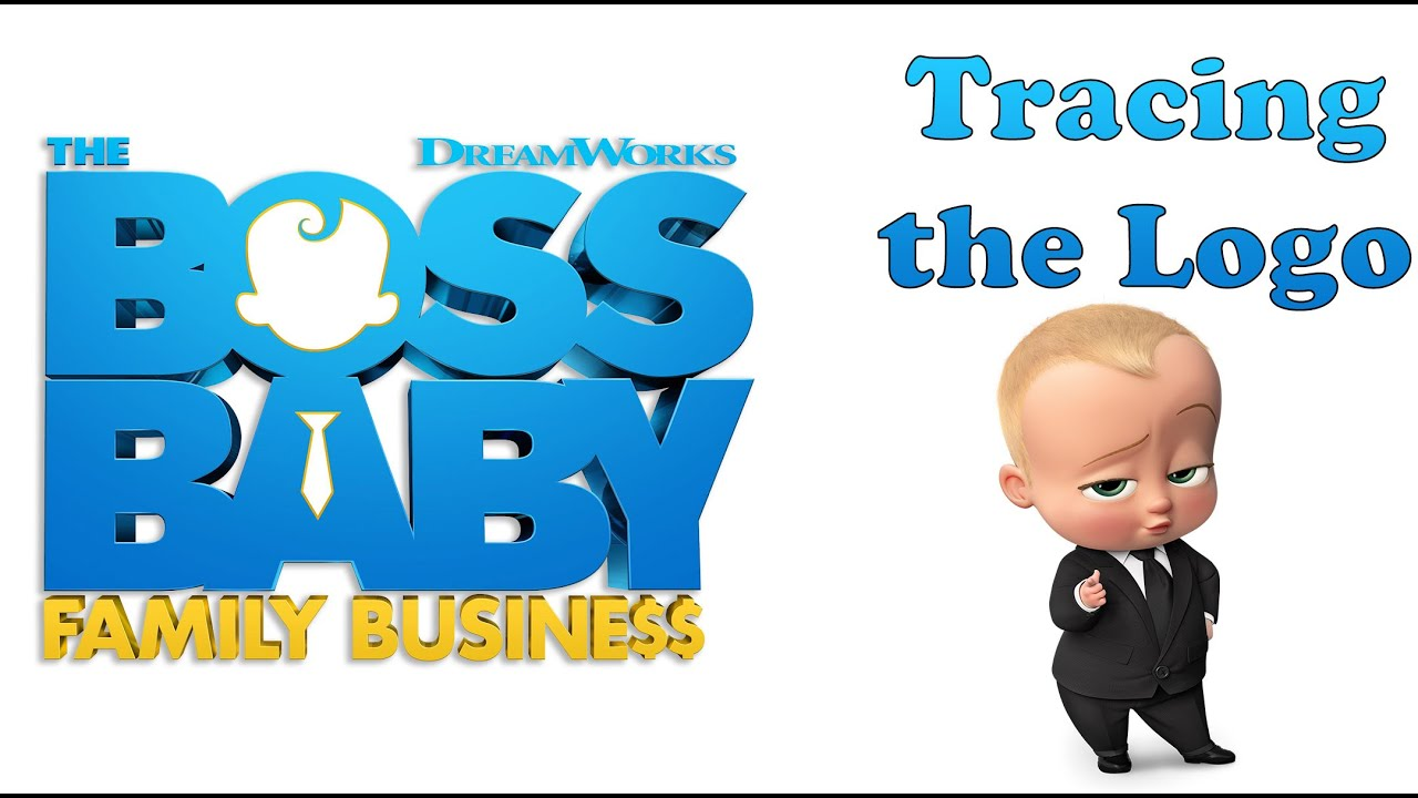 Dreamworks The Boss Baby Family Business Tracing The Logo Youtube