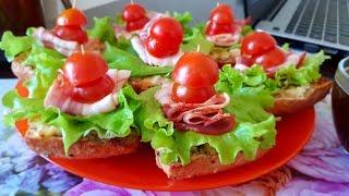 Самый лучший горячий бутерброд!!! Приготовь не пожалеешь!!!🥪🥪🥪