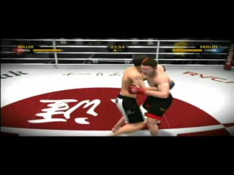 Ea Sports Mma Demo Gameplay Ps3 Playstation 3