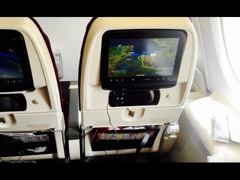 Qatar Airways A380 Top Deck Economy Doha to Bangkok [4K]