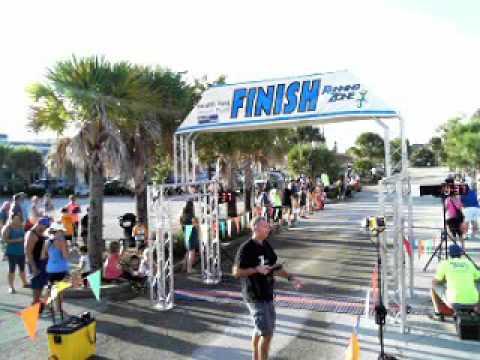 Long Doggers Kids' Marathon Finish Line Video 10-1-16