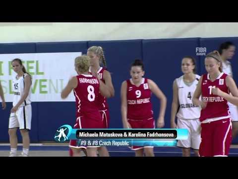Video : Ευγενία Κολλάτου | No 1 στις πέντε κορυφαίες στιγμές του πρώτου γύρου του U16 Women 2013