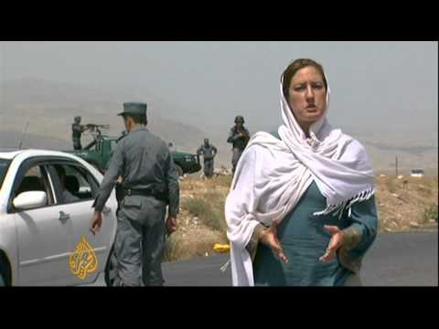In one town Afghan police make strides