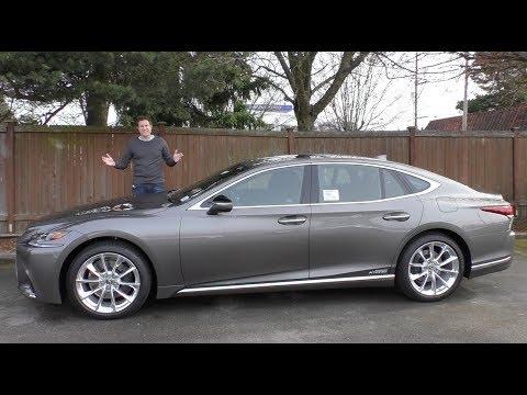 The 2018 Lexus LS 500 Is the $120,000 Ultimate Lexus Sedan