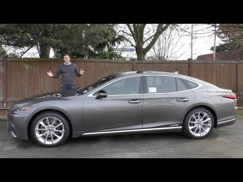 The 2018 Lexus LS 500 Is the 120,000 Ultimate Lexus Sedan