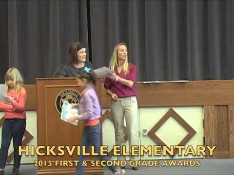HES 1st 4th Grade Awards 5 21 15