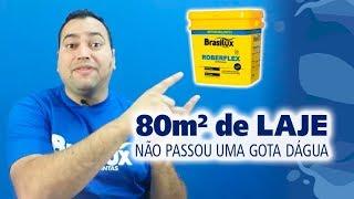 Impermeabilização de laje com manta líquida   Leandro Piovesan