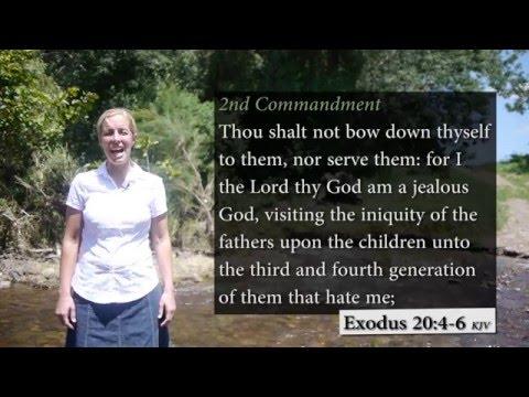 10 Commandments Song - Exodus 20:3-17 KJV - Musical Memory Verses