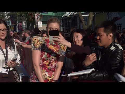 PROFESSOR MARSTON & THE WONDER WOMEN: Bella Heathcote Red Carpet Premiere Arrivals TIFF 2017