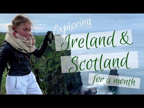 1 MONTH IN IRELAND/SCOTLAND