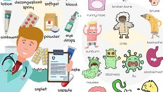 Health Vocabulary: Common Diseases and Different Types of Doctors