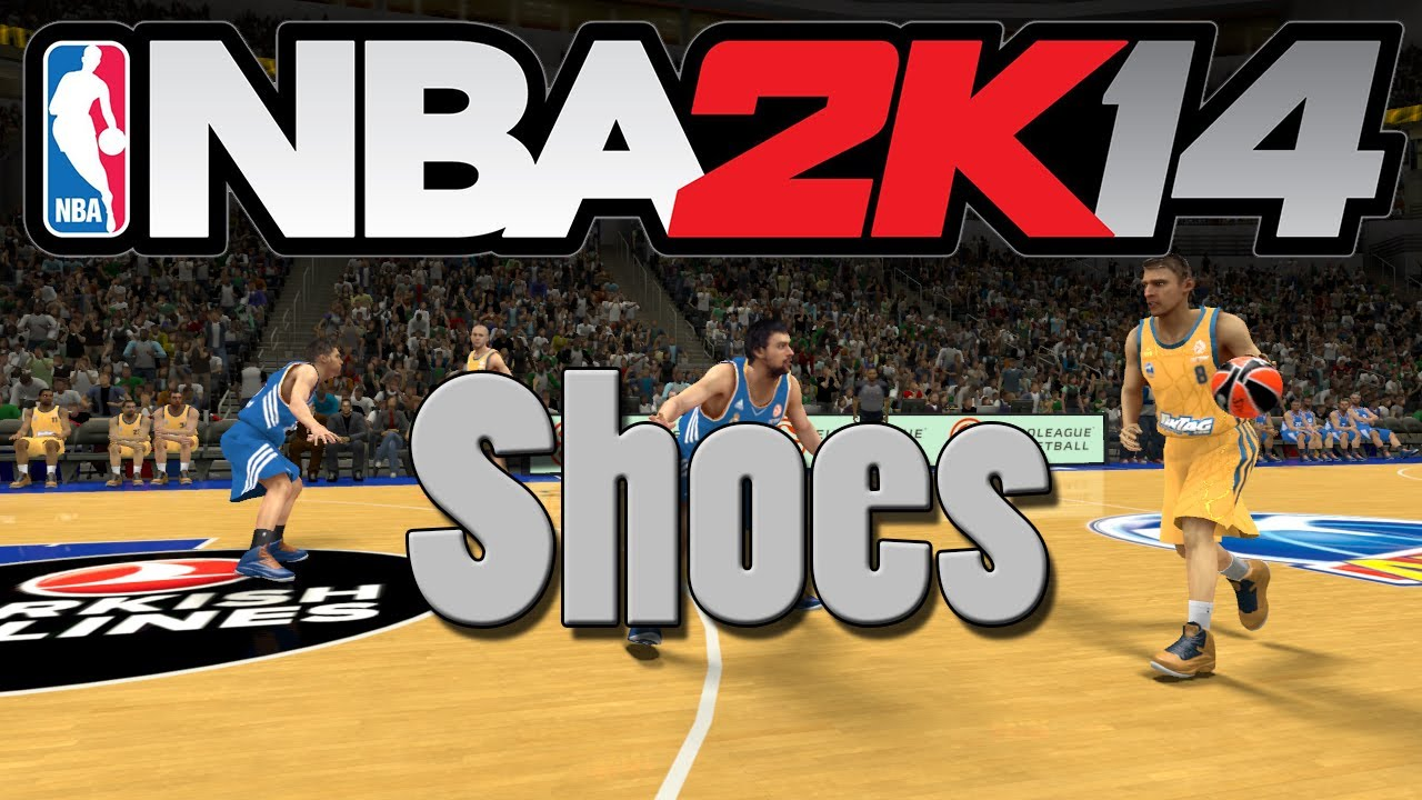 7d93e325d09c NBA 2K14 Mods  How to Add Different Types of Shoes! (PC) - YouTube