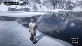 Legendary Sockeye Salmon Caught on First Cast Red Dead Redemption 2