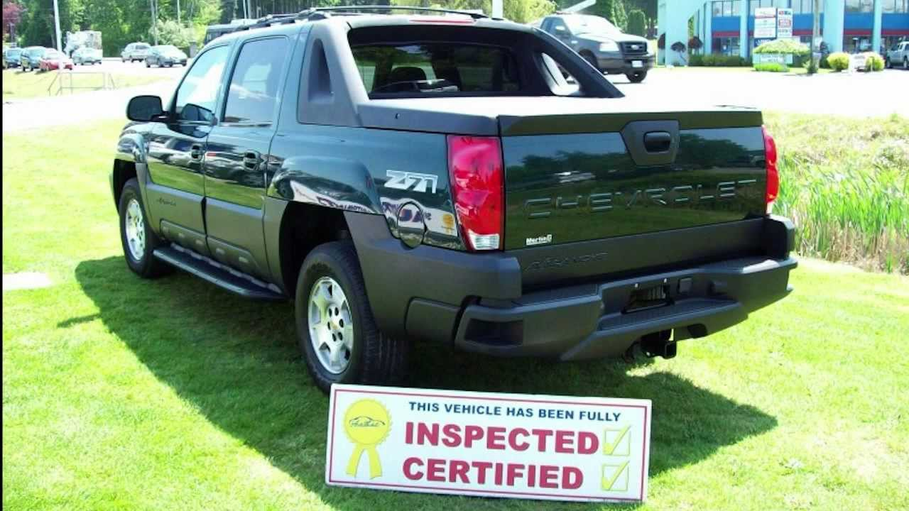 2003 chevrolet avalanche 1500 z71 4x4 loaded htd leather sunroof inspected truck crew cab. Black Bedroom Furniture Sets. Home Design Ideas
