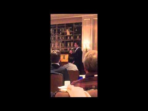 Ben Utecht Speaking at Neurology on the Hill 2015