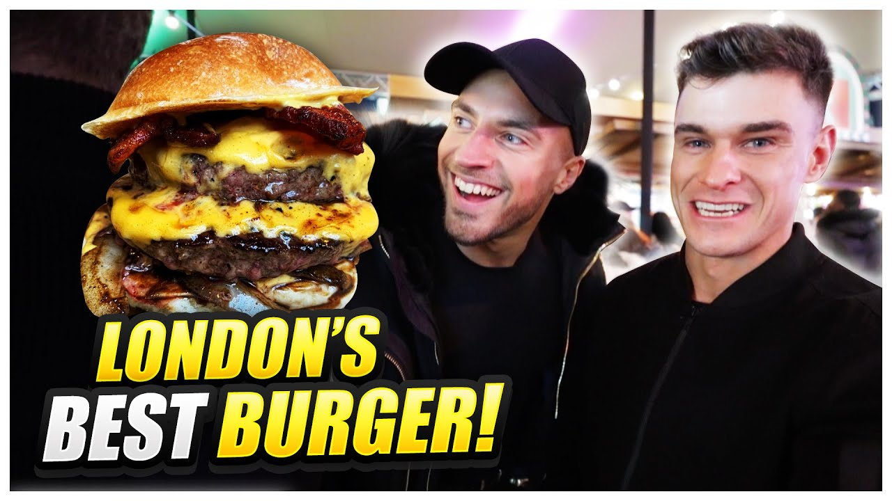 Searching For London's Best Burger Feat. Rob Lipsett