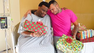 Surprising my Best Friend in the Hospital on Christmas...