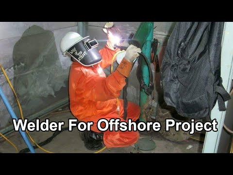 Welder For Offshore Project