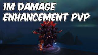 1M Damage - 8.0.1 Enhancement Shaman PvP - WoW BFA