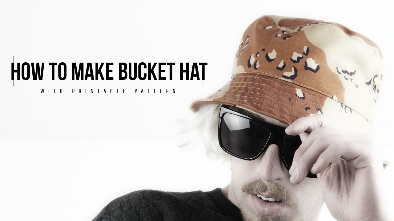 How To Make Bucket Hat 20 Steps With Pictures Instructables