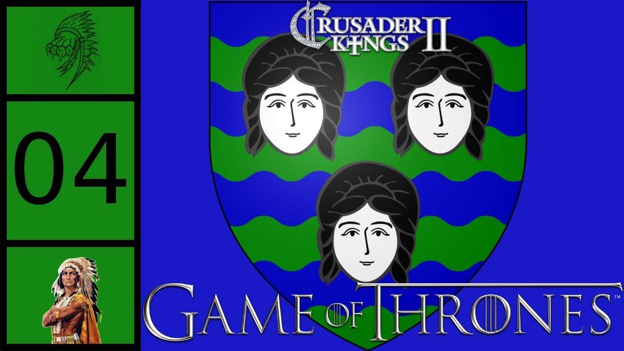 CK2 Game of Thrones - House Sunderland #4 - Stormy Blackwater