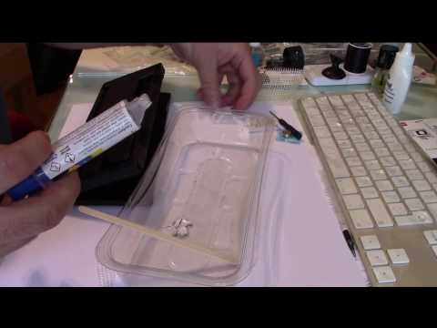 How to repair with Epoxy - repair a plastic case with epoxy