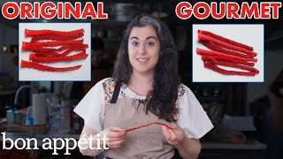 Pastry Chef Attempts To Make Gourmet Twizzlers Gourmet Makes Bon Appetit