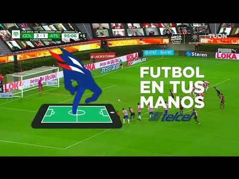 Chivas 3 - [2] Atlas - Victor Malcorra 90+6'