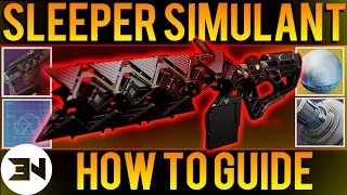 """How To Get The Sleeper Simulant"" Quest Walkthrough - Exotic Heavy Fusion Rifle (PART 1)"