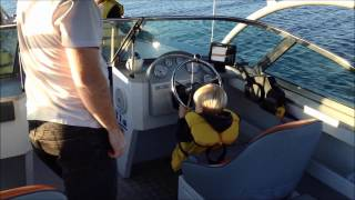 Boab Boat Hire Sports Rider cruise through North Arm Cove (Port Stephens)