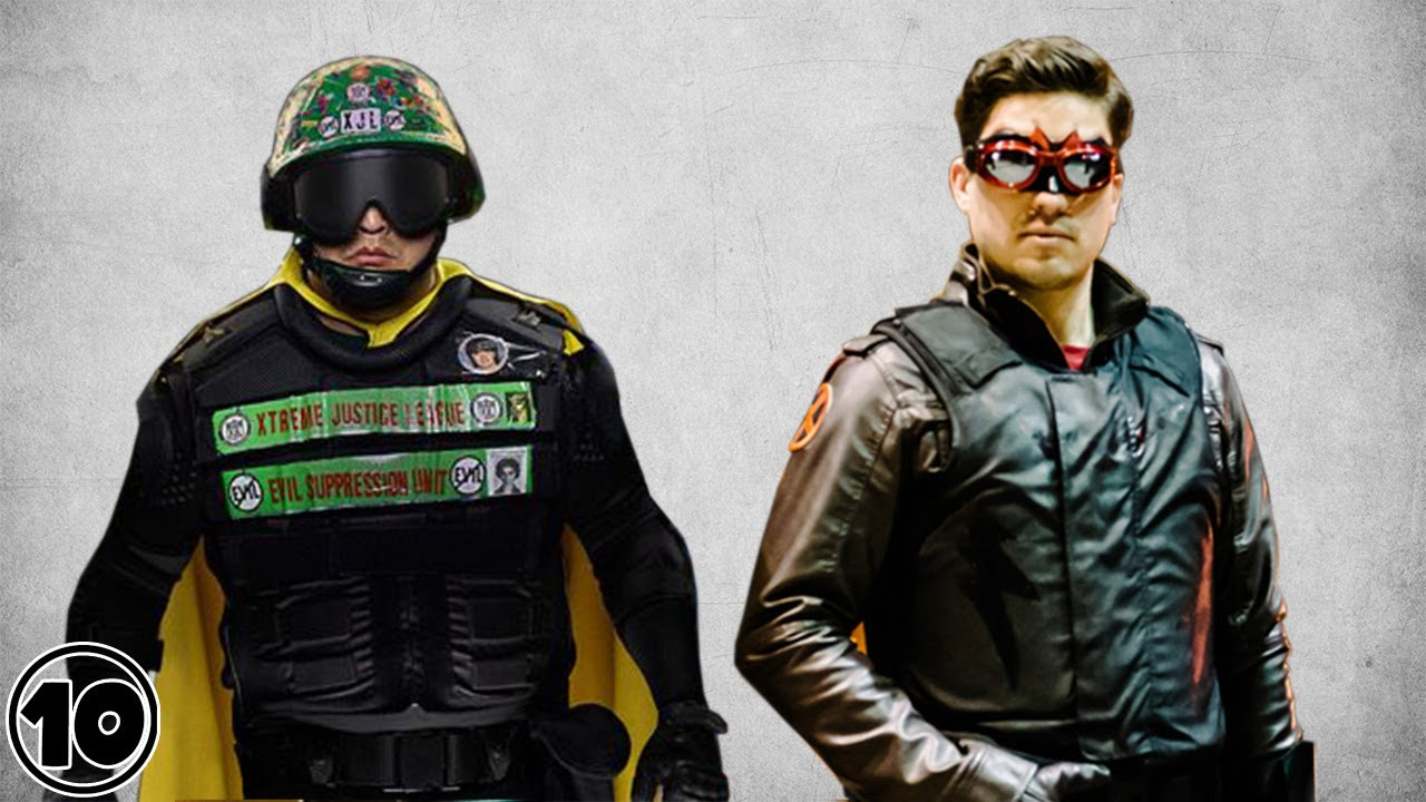 Top 10 Real Life Superheroes - Part 2 | FunnyCat.TV