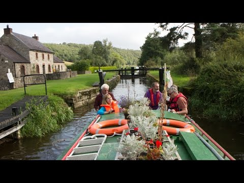 Ireland Barge Trip, River Barrow, South East Ireland 2014 HD