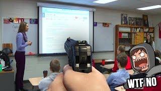 Scaring My Class With A Toy Gun (Sernandoe Clickbait)