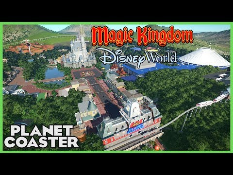 WALT DISNEY WORLD! Magic Kingdom! Park Spotlight 78 #PlanetCoaster